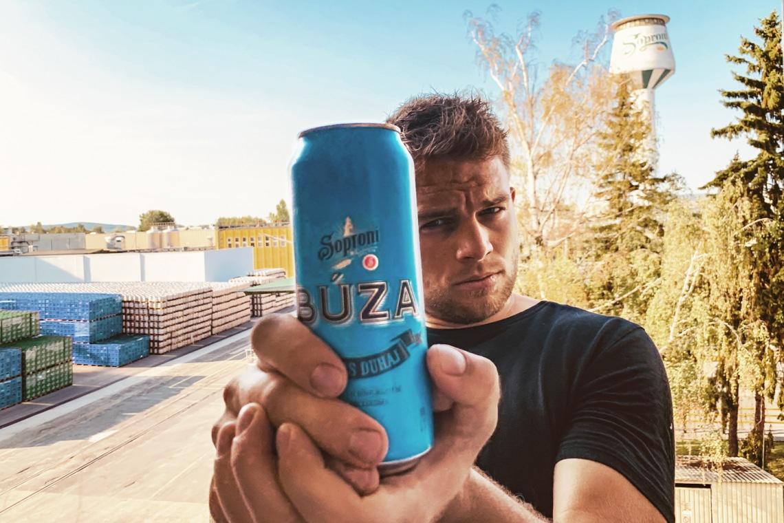 Ez a sört kedvelők új kedvence: Soproni Óvatos Duhaj Búza