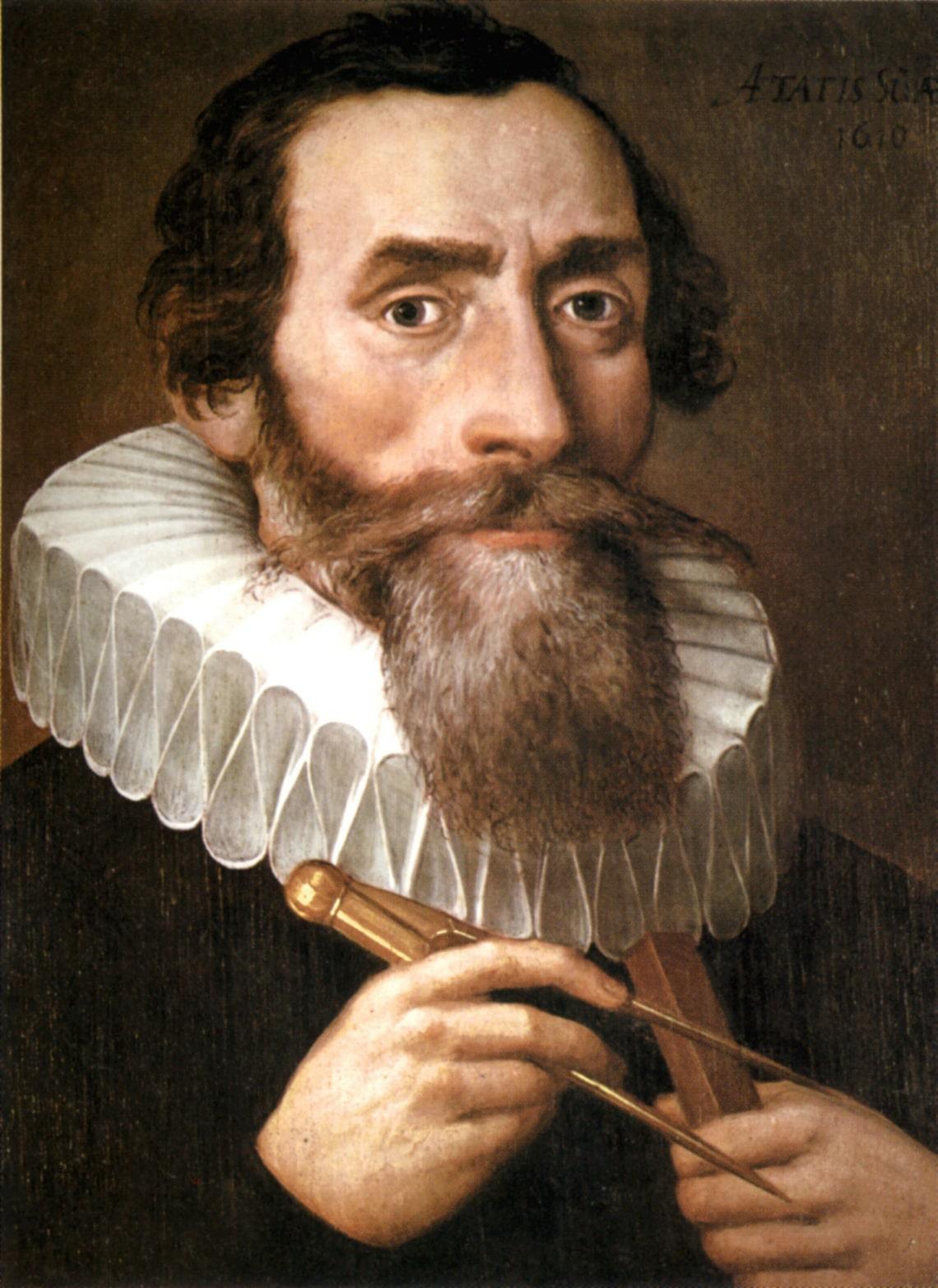 Kepler és az ő mókás munkássága, az 1600-as évekből