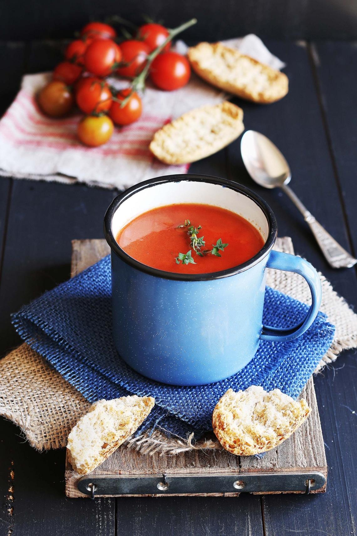 Frissítő levesek