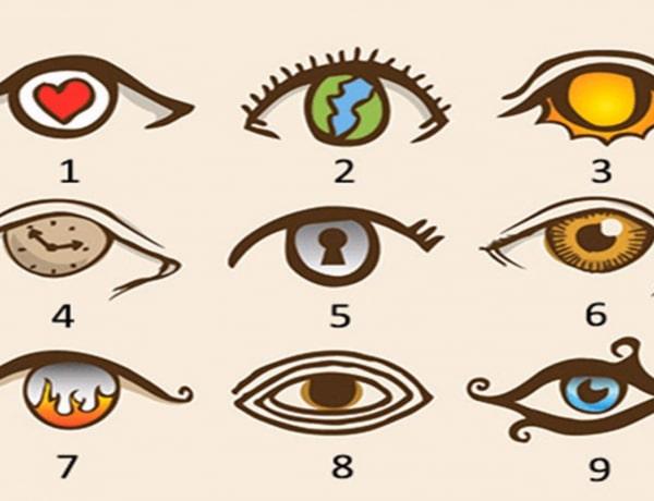 Személyiségteszt: melyik szem tetszik a legjobban a képről?