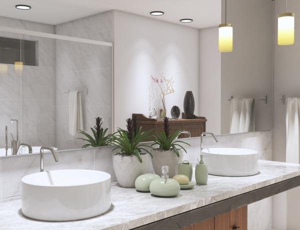 Luxus a fürdőszobában – 5 tipp az elegáns hatásért