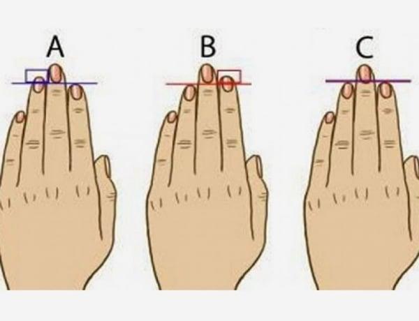 A mutató- vagy a gyűrűsujjad hosszabb? Ezt árulja el rólad