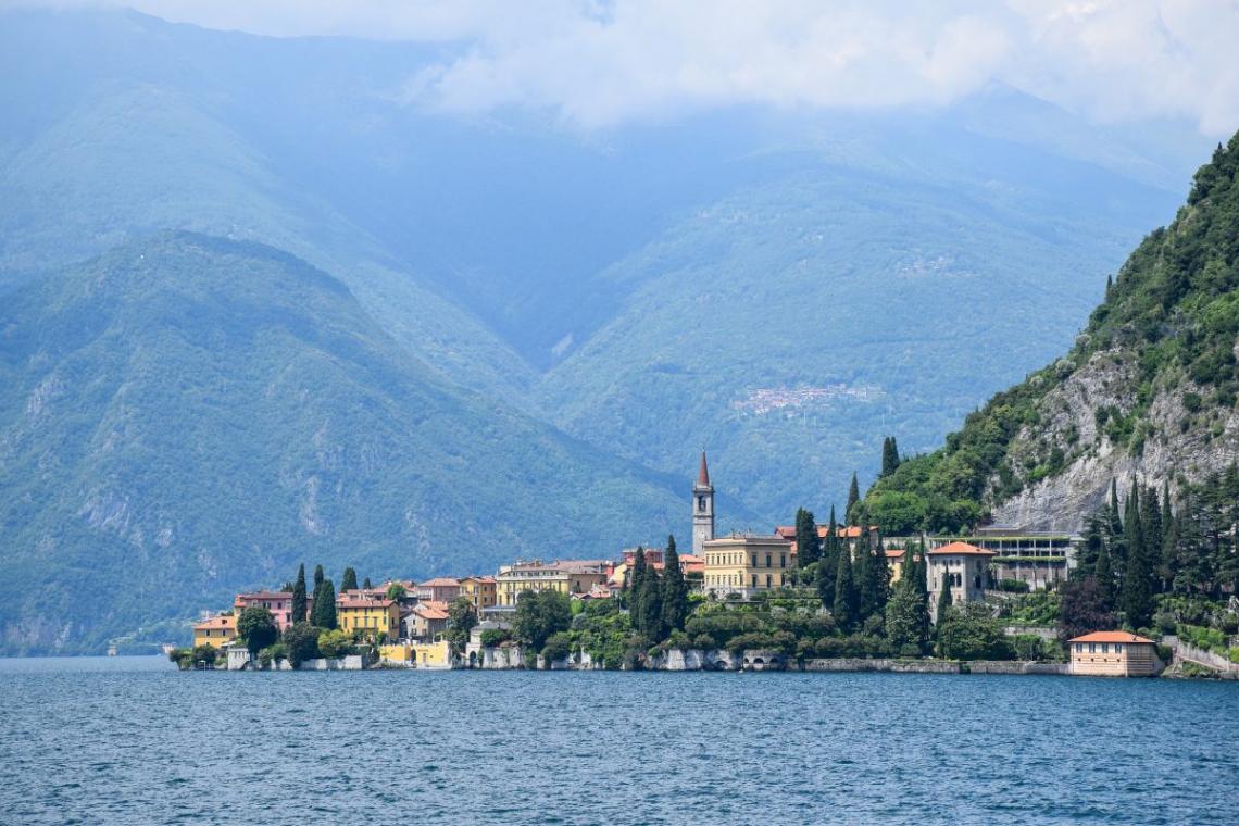 Comói-tó, Olaszország