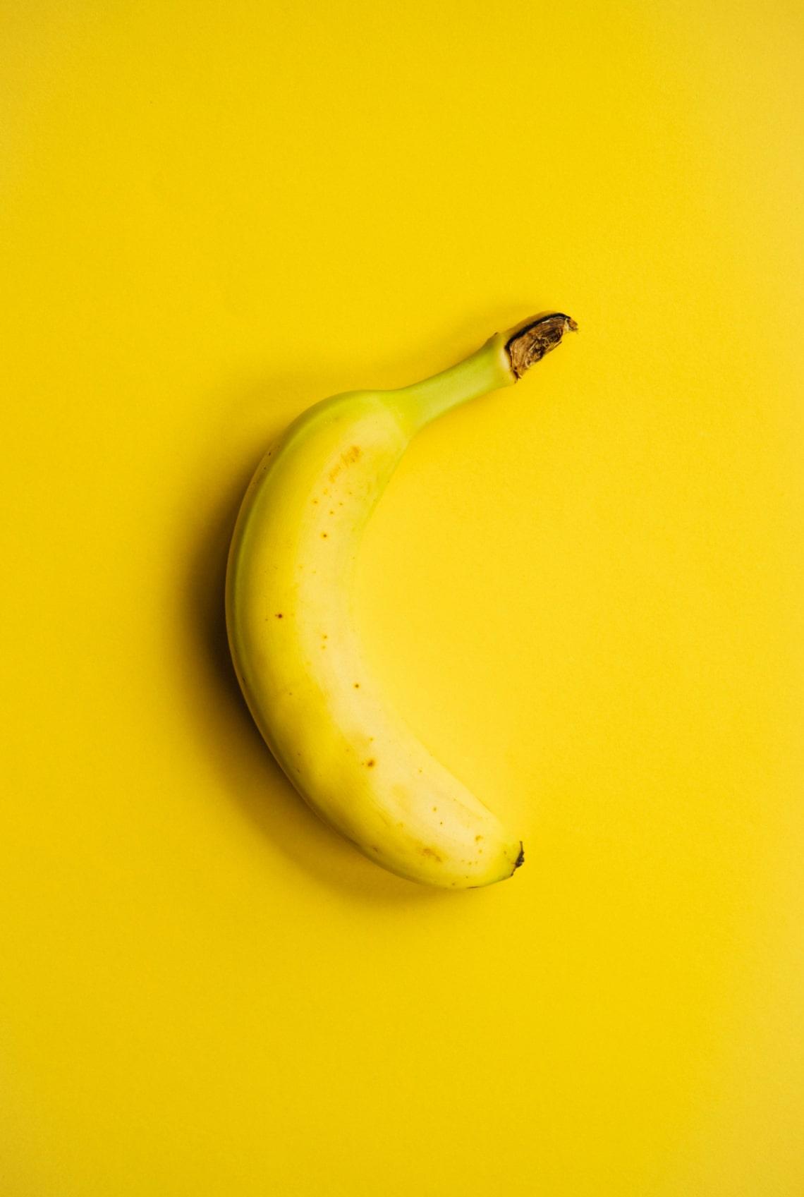 A banán radioaktív