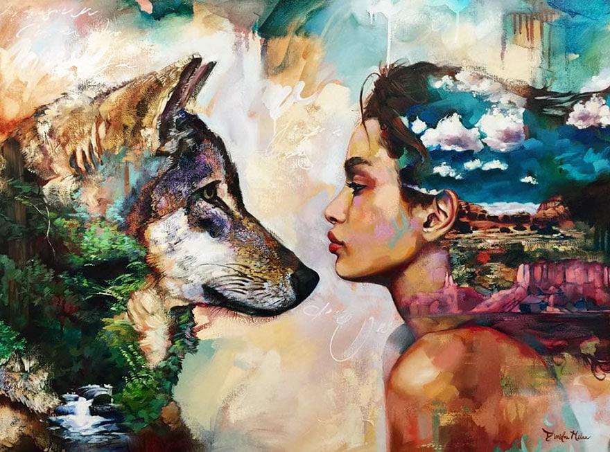 Álmok a vásznon – Nézd meg a 16 éves Dimitra Milan lenyűgöző festményeit!