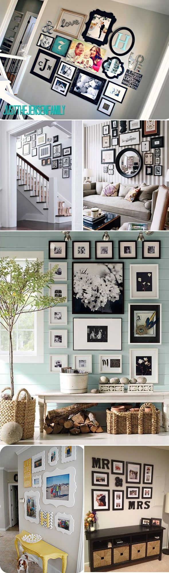 Így akasztják a képeket a falra a lakberendezők, hogy ne legyenek unalmasak