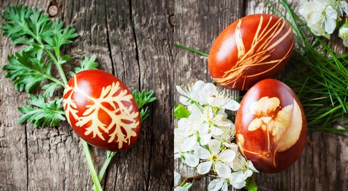 Így fess tojásokat természetes anyagokkal – ahogy a nagymamámtól tanultam