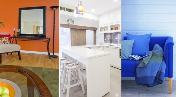 Így hatnak rád otthonod színei