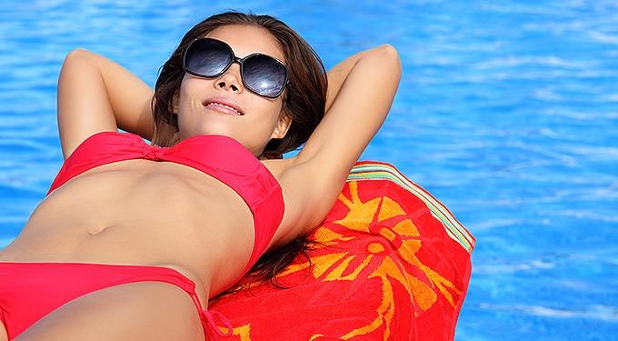 Így nem károsítja bőrödet és szemedet a napfény