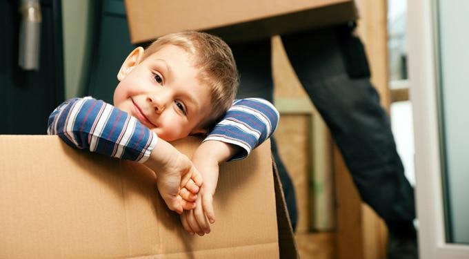 Így zajlik a költözés ha gyerekeid vannak