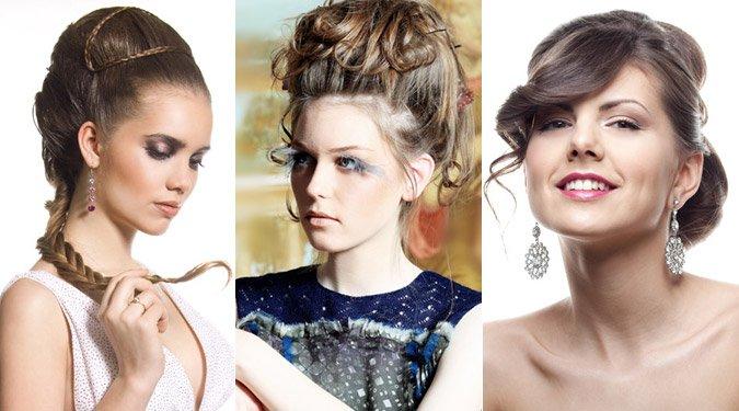 Új alkalmi frizurák hosszú hajra (Galéria)