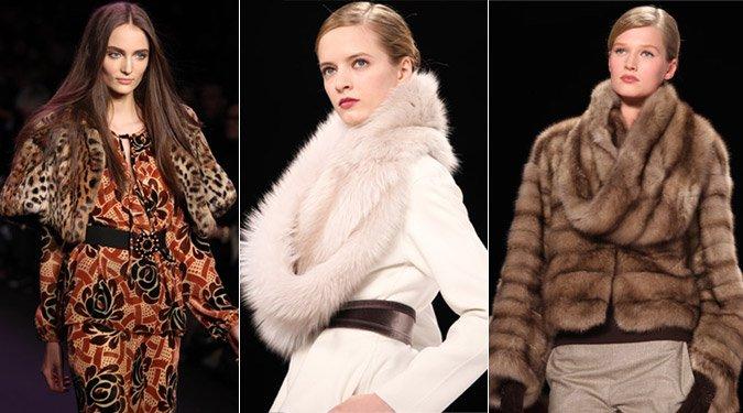 Őszi divat 2011: A szőrme