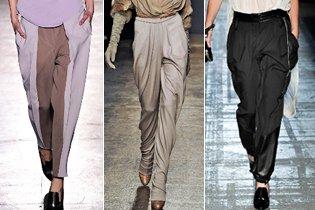 Őszi divat 2011: Bő nadrágok