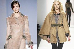 Őszi/téli divat: Teveszín kabátok