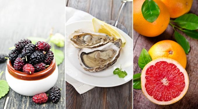 10 étel az egészséges külsőért