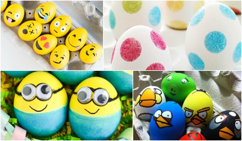 10 kreatív tojásfestési ötlet húsvétra, amit a gyerekek is imádni fognak