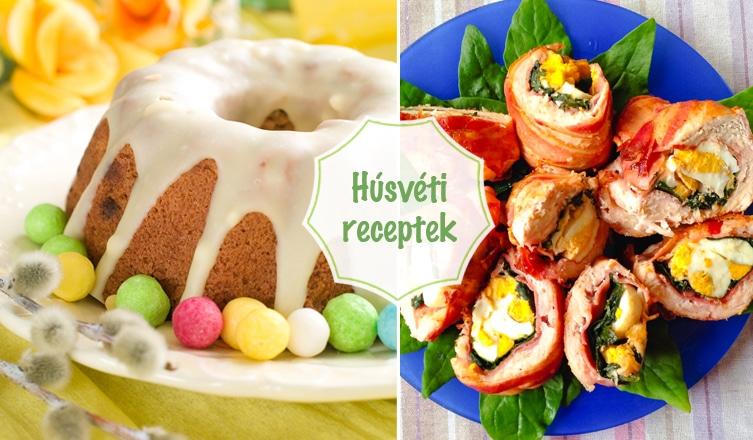 10 mennyei étel a húsvéti asztalra