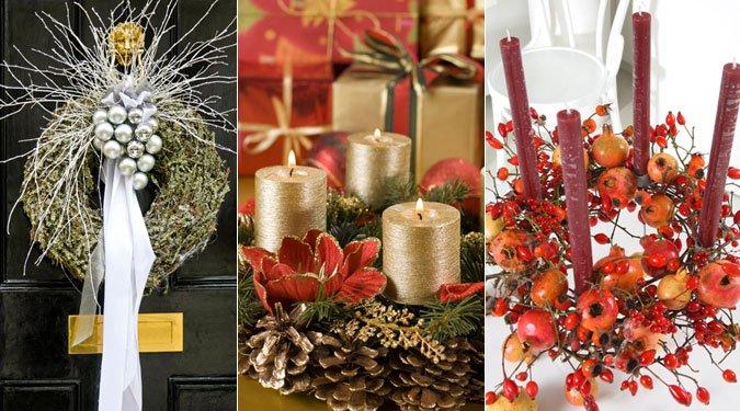12 gyönyörű karácsonyi és adventi koszorú