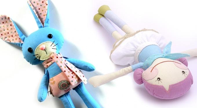 14 aranyos kézműves játékfigura, amivel még te is eljátszanál!