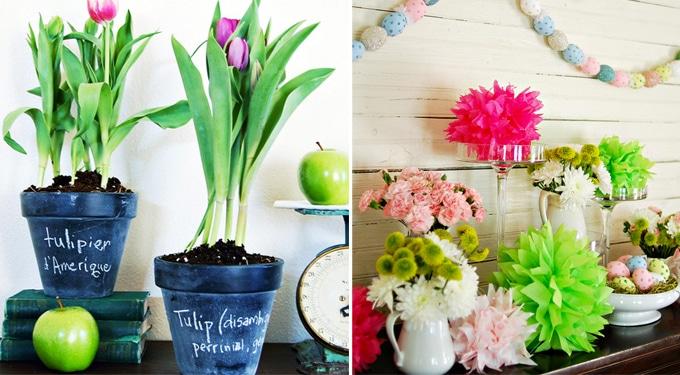 14 formabontó húsvéti dekorációs ötlet a lakásba