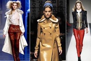 2010/2011-es téli trend: Bőr