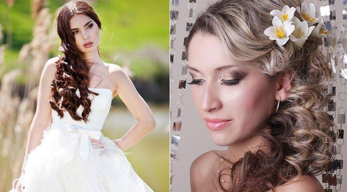 25 csodálatos esküvői frizura képekben