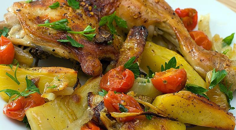 3 recept paradicsommal és krumplival