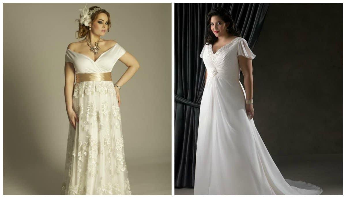 5 álomszép esküvői ruha teltebb menyasszonyoknak