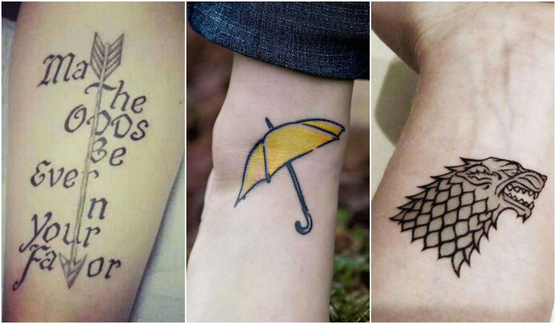5 csodaszép tetoválás, amit filmek és sorozatok inspiráltak