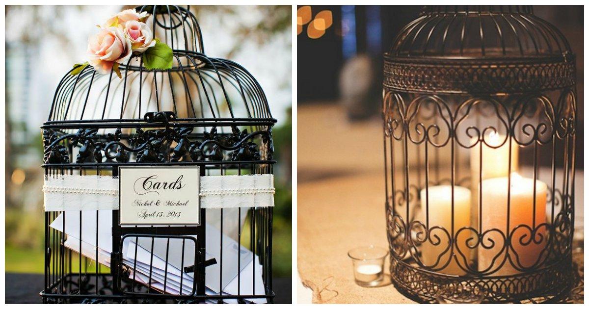 5 dekoráció, amiktől te is beleszeretsz a madárkalitkákba