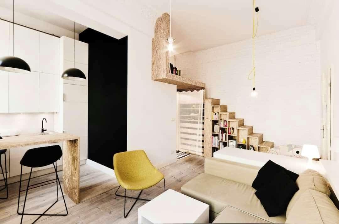 5 gyönyörű lakás 25 négyzetméter alatt – Aprók, de élhetőek!