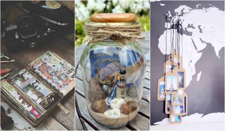 5 kreatív megoldás a nyaralás emlékeinek megőrzésére