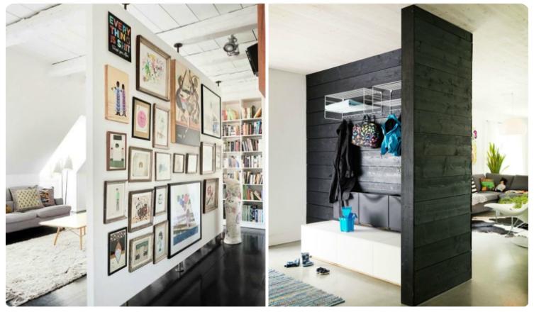 5 nagyon ötletes és mutatós térelválasztó aprócska lakásokba