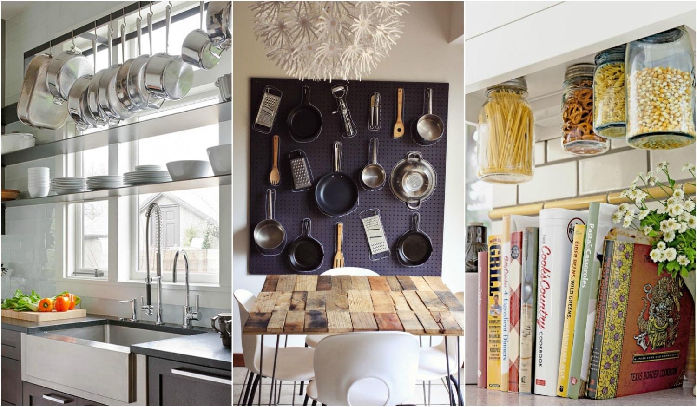 5 rendszerezési ötlet a konyhádba, ami sosem jutna eszedbe