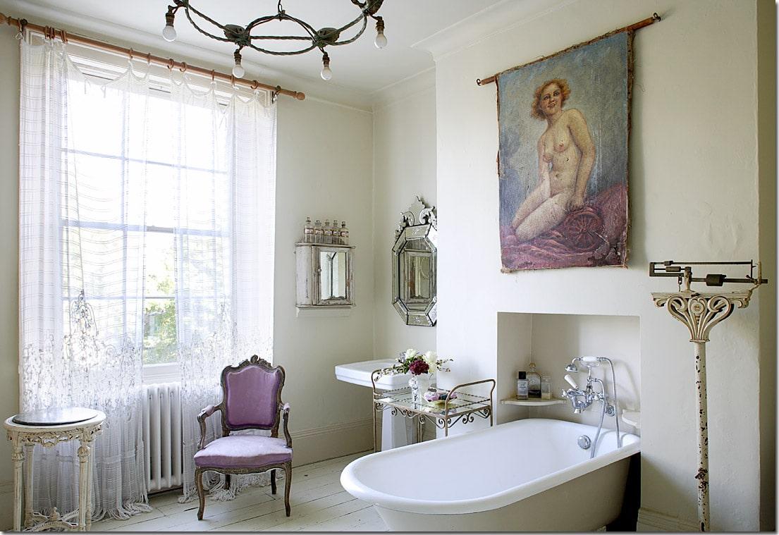 5 saját készítésű, vintage dekoráció a fürdőbe: imádni fogod