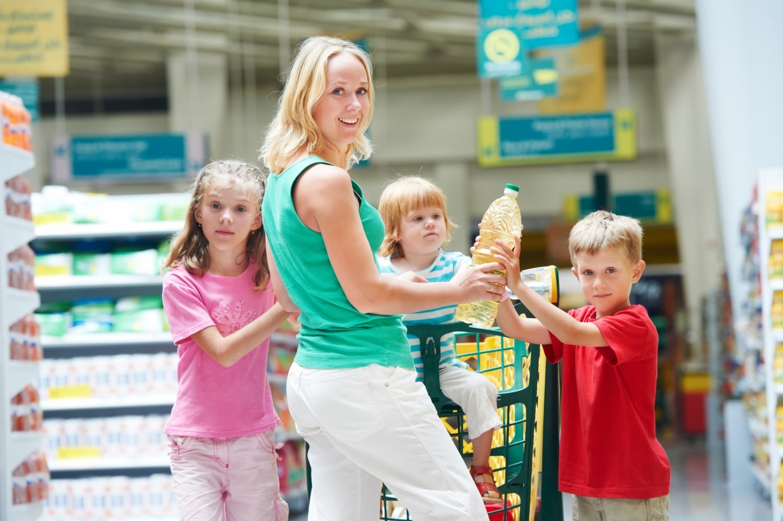 5 tipp, hogy sikerüljön a vásárlás a gyerekkel