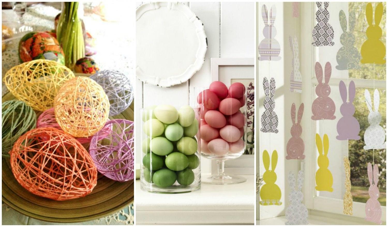 5 vidám húsvéti dekoráció, amit te is könnyedén elkészíthetsz