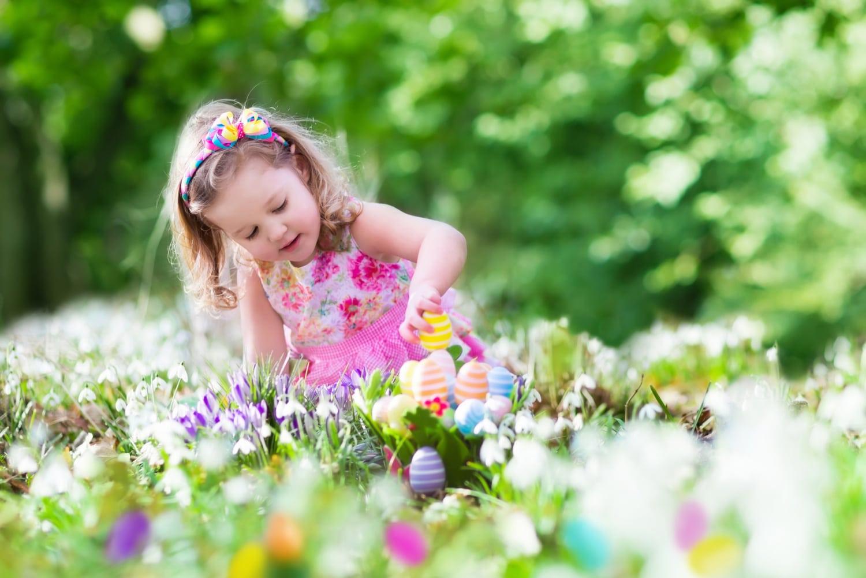 5+1 kreatív húsvéti játék a kertben, gyerekeknek