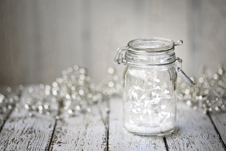 6 ötletes, DIY dekoráció befőttesüvegből