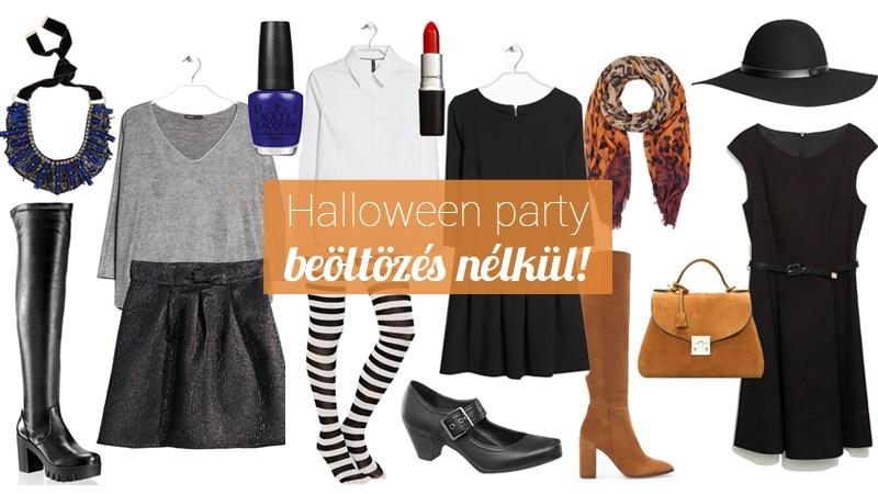 6 divatos Halloween-party szett, ha nem szeretnél jelmezt