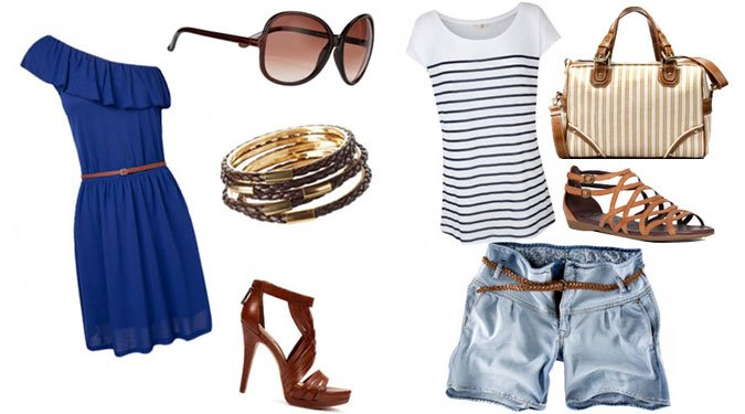 6 nyári divatos ruha összeállítás
