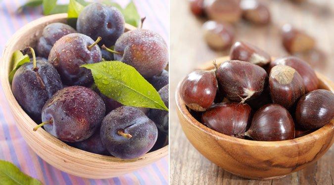 6 szépítő őszi gyümölcs