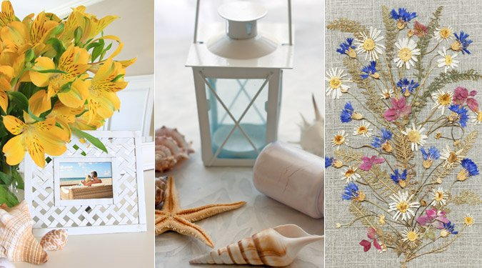 7 kedves dekoráció a nyár emlékeiből
