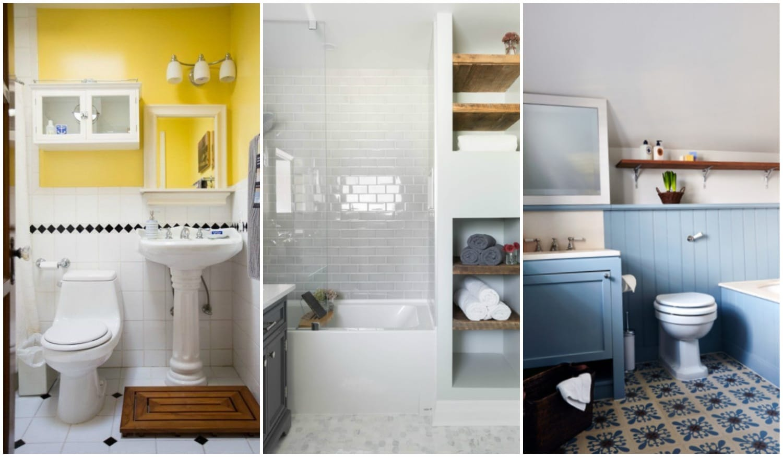 7 meglepő szín szűk fürdőszobákban, amiktől nagyobbnak tűnik a tér