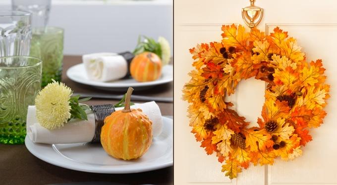 7 pazar őszi dekoráció, semmi pénzből