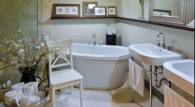 7 rendhagyó dekorötlet a fürdőszobába