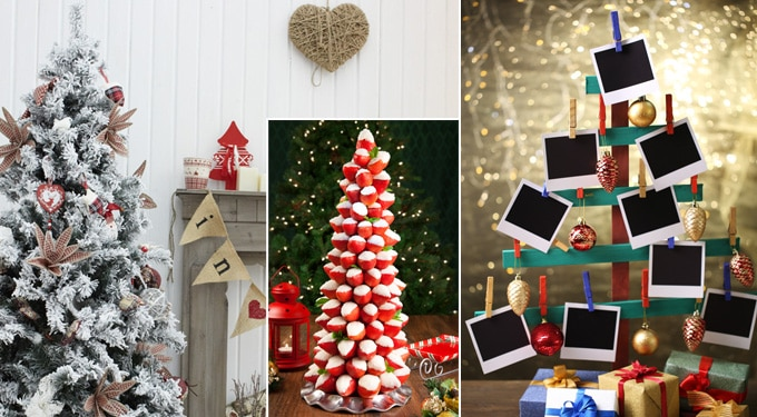 7 szuper alternatív karácsonyfa ötlet