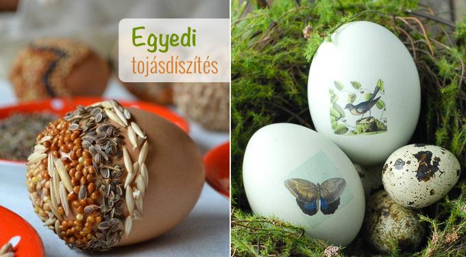 8 egyedi ötlet a húsvéti tojásfestéshez