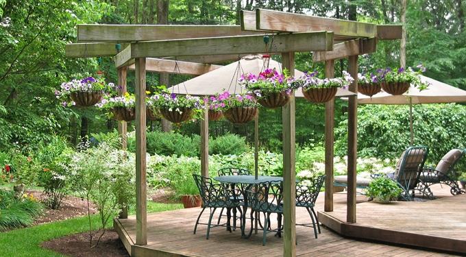 8 hangulatos terasz és kerti pihenő