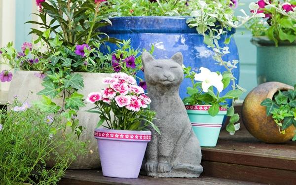 9 gyönyörű nyári kert és kreatív megoldás